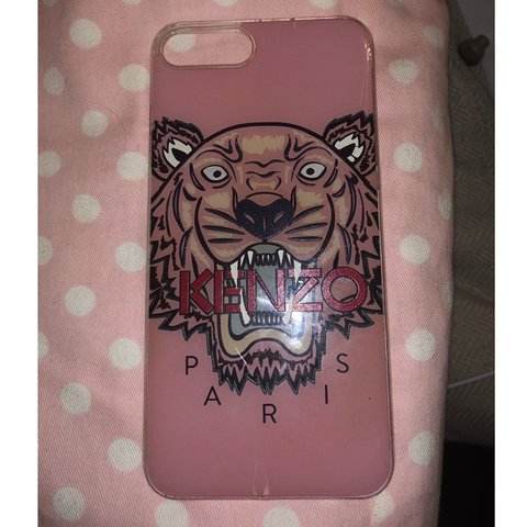 ac2b304c @miamcnultyxx. 3 months ago. Glasgow, United Kingdom. Pink Kenzo IPhone 7  Plus phone case. Would fit iPhone 8 ...