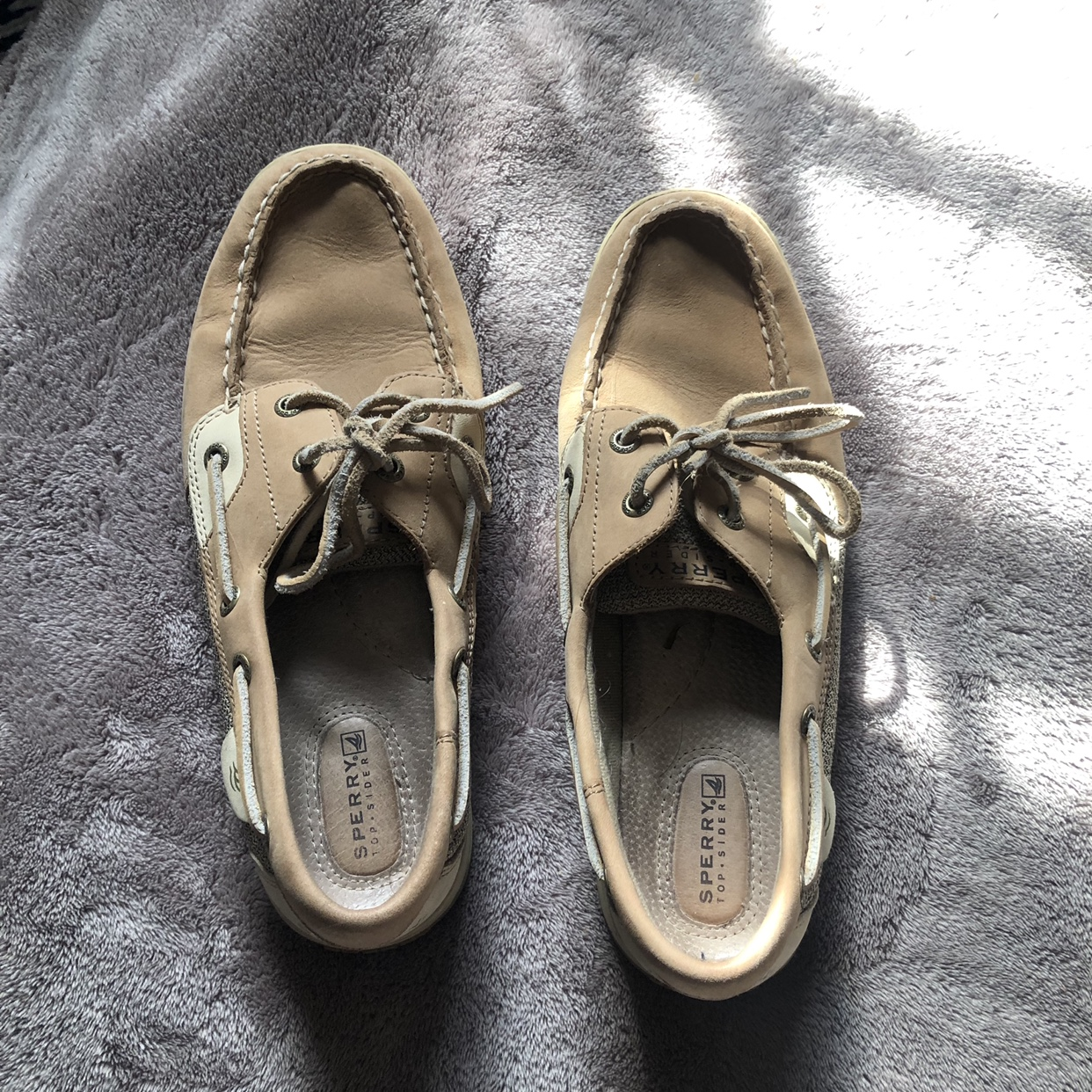 Sperry Top Sider Boat Shoes Non Marking Size 9 Depop