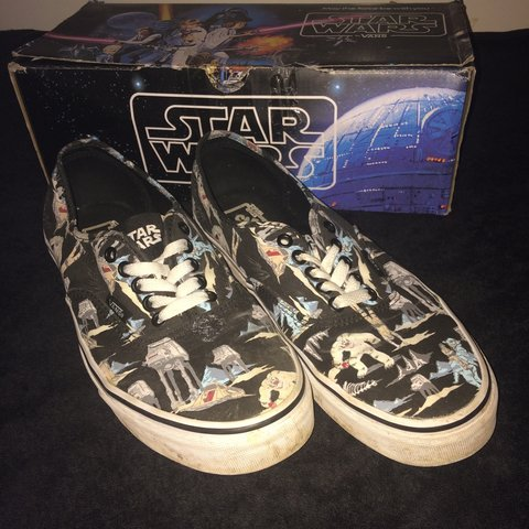 b4538b94b08210 Very cool Star Wars Limited edition vans with empire strikes - Depop