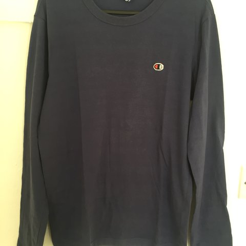 96d0cdaf @l0rd. 8 months ago. Eastbourne, United Kingdom. Navy blue champion shirt, long  sleeved ...