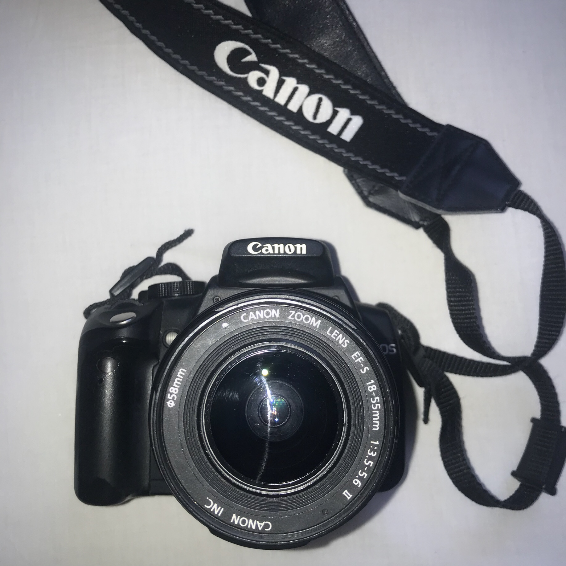 Canon EOS 350D Digital SLR Camera - WITH 18-55mm