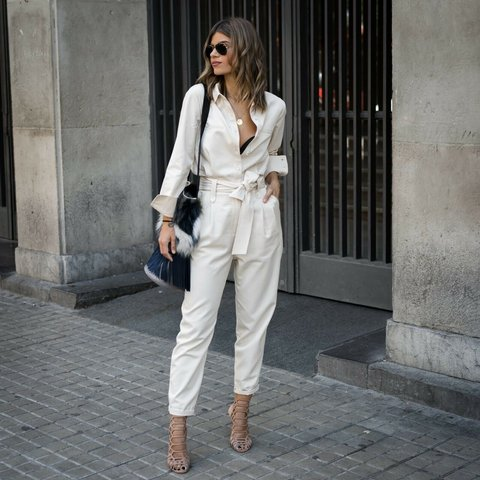7182cb46efa Sold Out Zara utility cream shirt boilersuit jumpsuit