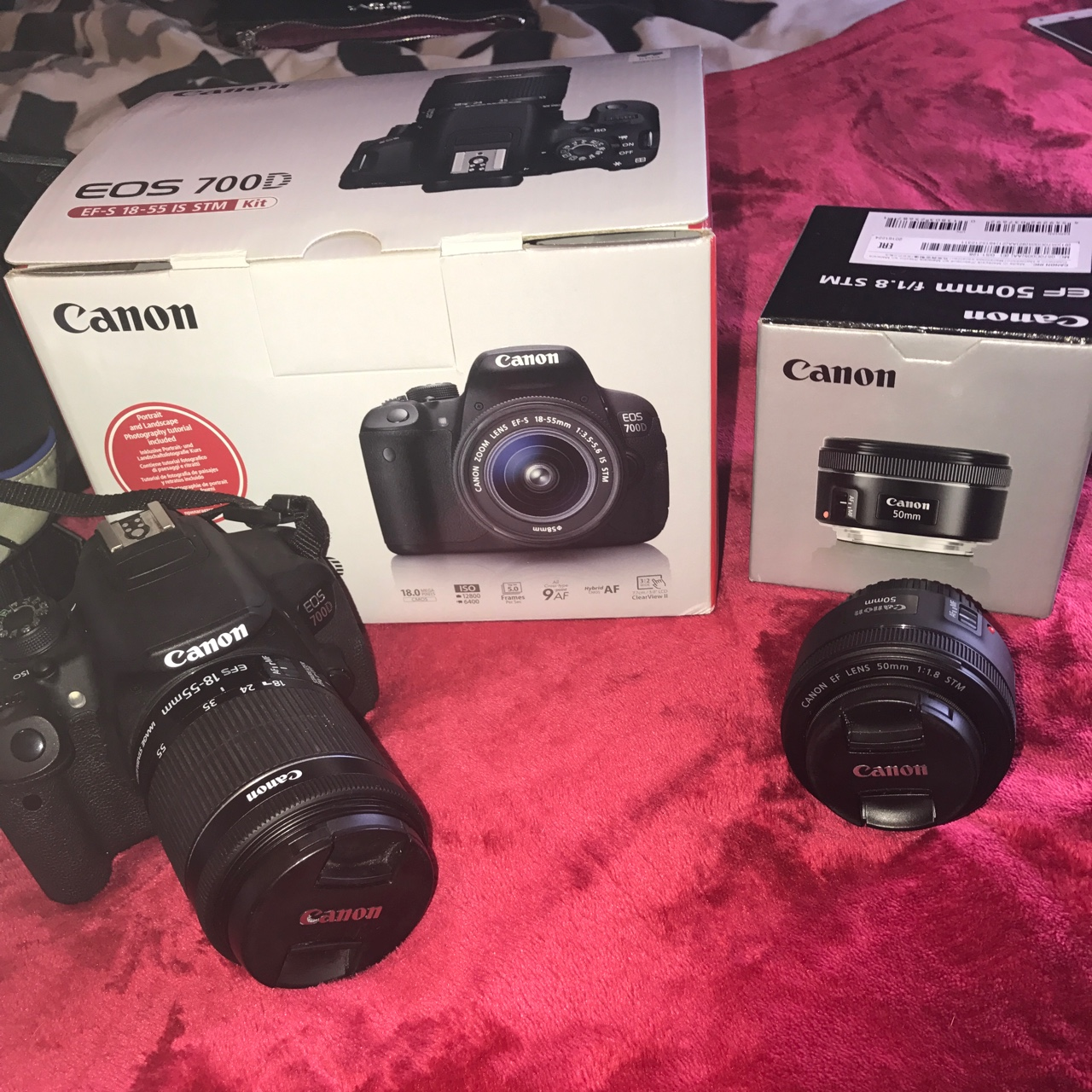 Canon EOS 700D and lenses for sale! 1 1 4 firmware    - Depop