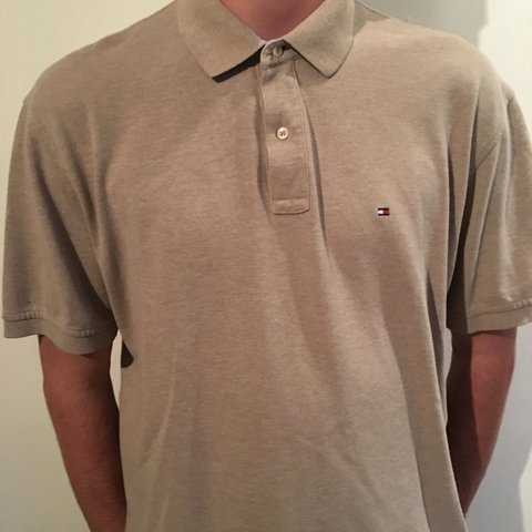 b9784ac3e @james27west. 8 days ago. Liverpool, United Kingdom. Vintage Tommy Hilfiger  polo in beige / light brown. Best fit a men's ...