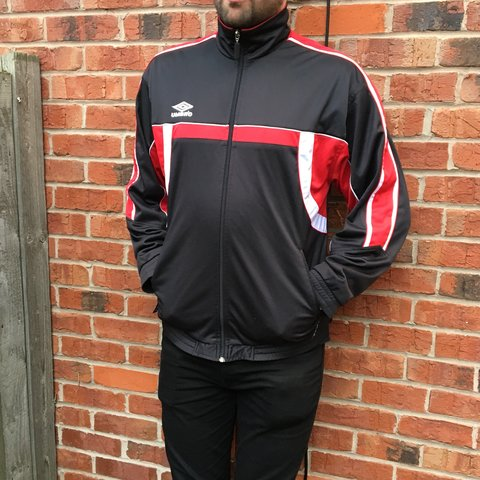 b20b39e6ea @james27west. 6 days ago. Stafford, United Kingdom. Vintage Umbro track  jacket ...