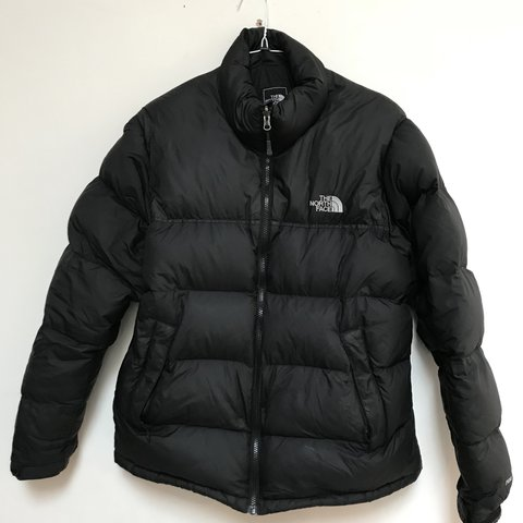 Mens Black Nuptse The North Face TNF 700 Down Fill Puffer