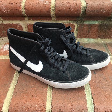 475c5a064520 @denimbitch. 2 years ago. Richmond, United States. Nike Primo Court High  Top Shoes!