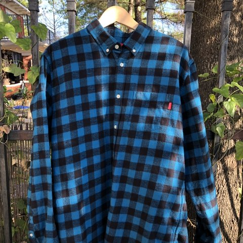 48b0c72bbada @labelsvintagestreetwear. 5 months ago. Houston, United States. Supreme  Flannel shirt size large