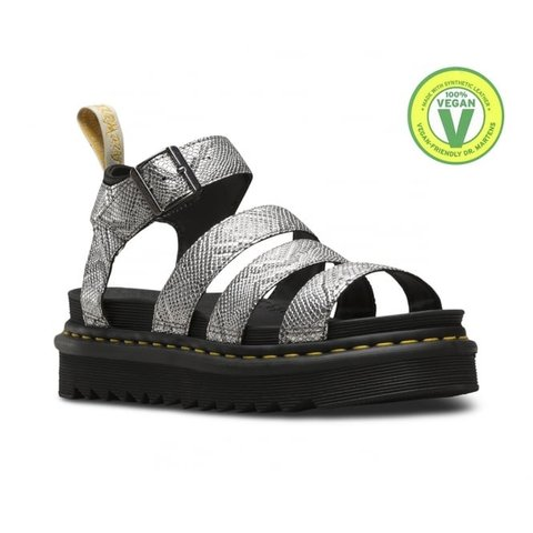 9a74b30f6f9 Vegan Dr. Martens Blaire sandals in UK size 6. NEW WITH BOX! - Depop