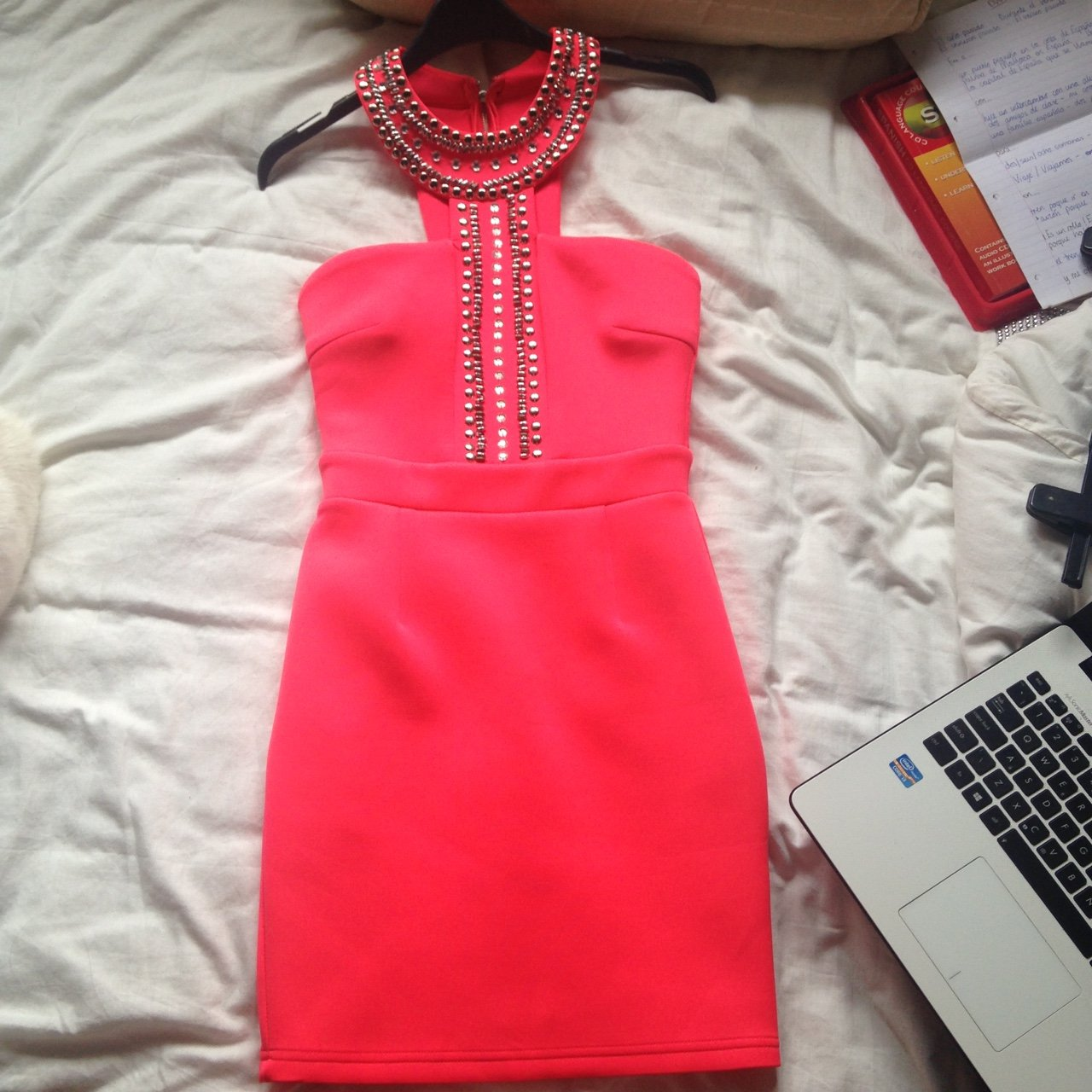 6997201dca Pink Lipsy size 8 bodycon