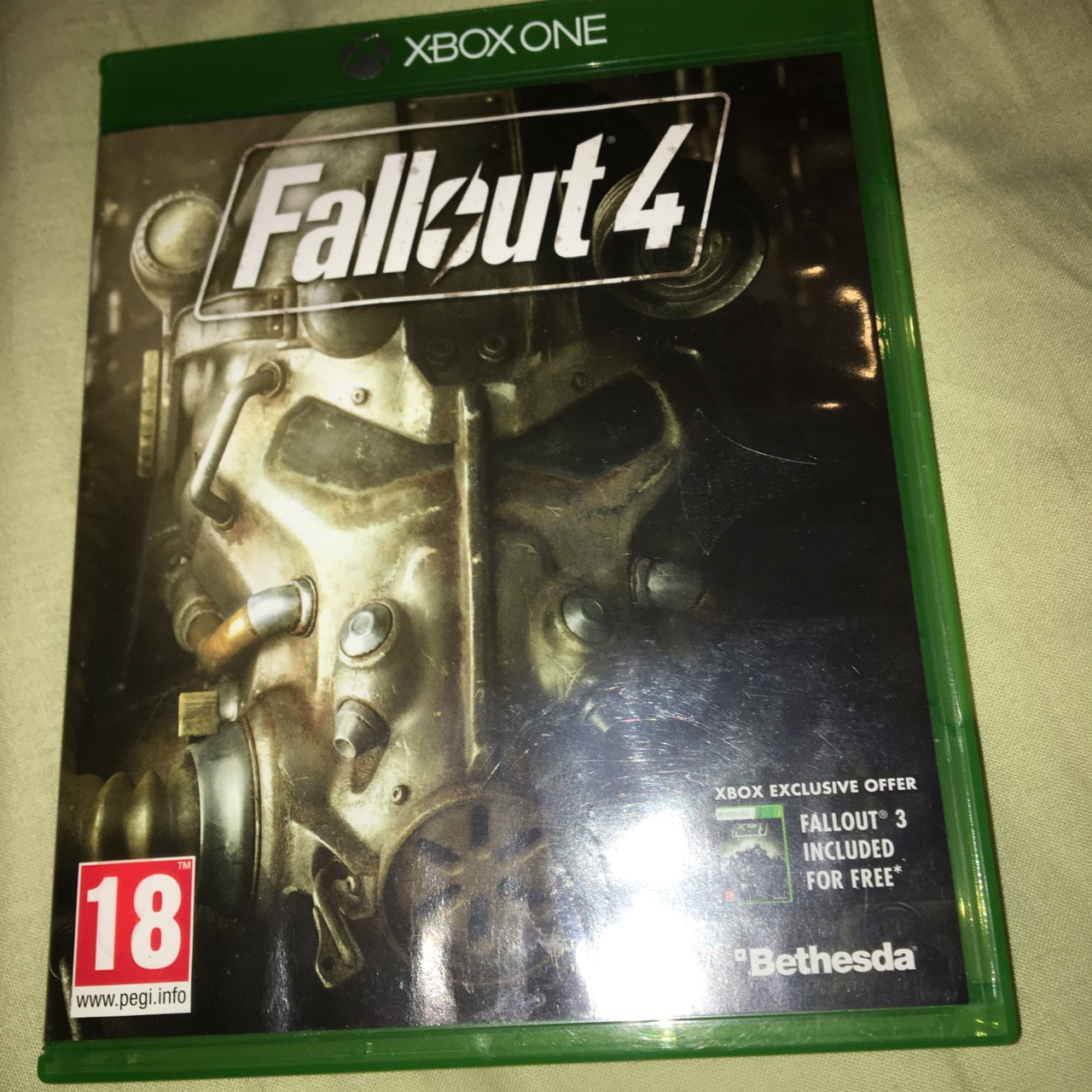 Fallout 4 for Xbox one  Disc in perfect condition,    - Depop