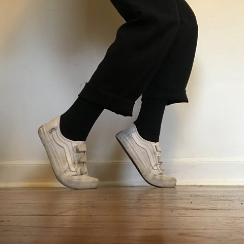 099d3ab6a09 Vans Black Ball velcro sneakers! This model of shoe and is a - Depop