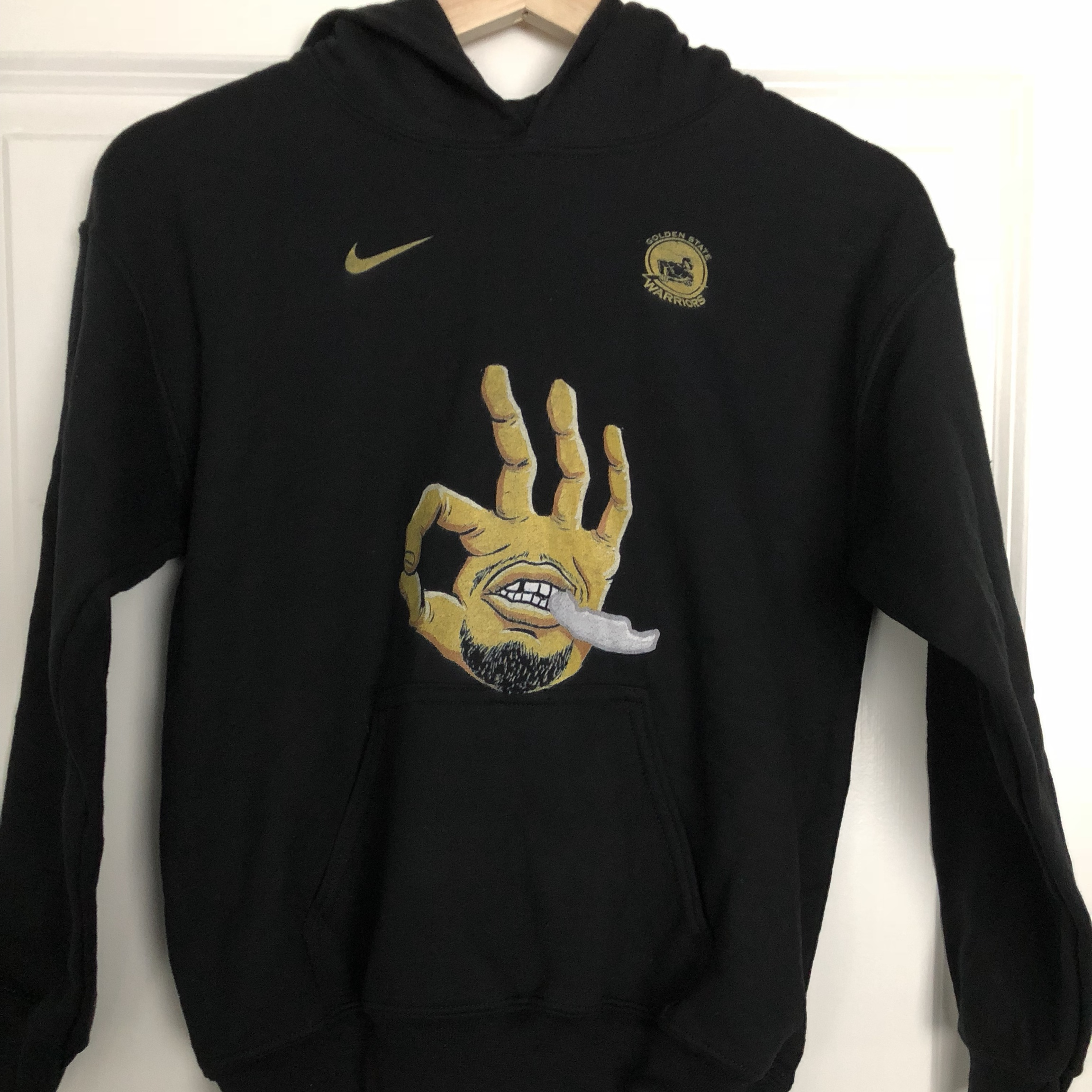 huge discount 23641 e090c Kids Steph Curry Hoodie. New. Color black. Unworn.... - Depop