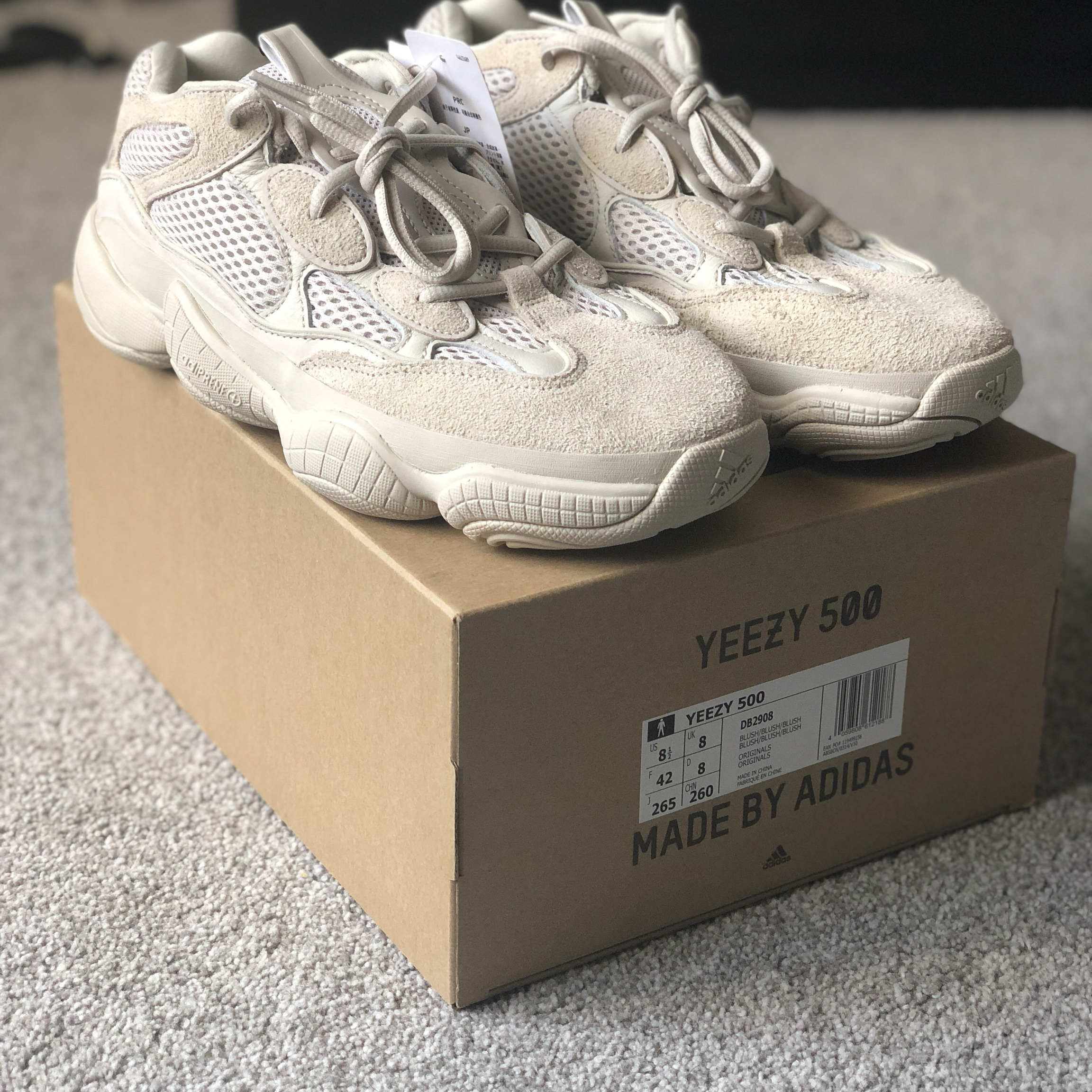 cheap for discount 2d27f 5362b Adidas Yeezy 500 mud rats brand new with tags size... - Depop