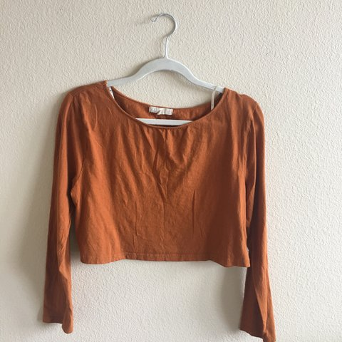 cc32064834c @_rosewater. last year. Los Angeles, United States. Burnt orange crop top.