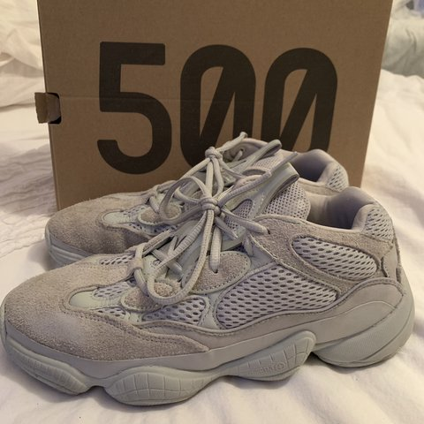 751412fd2 Yeezy 500  salt  . UK SIZE 7 Fits a 6 6.5 Selling due to 5 - Depop