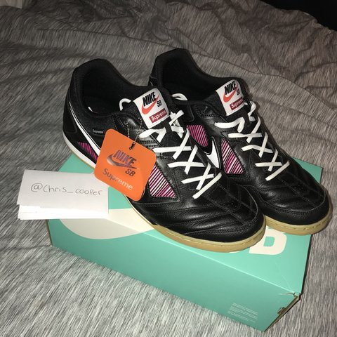 7b6c9d5527aaf Supreme x Nike sb gato   good condition worn once   open to - Depop