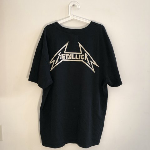 f1793c8b4 F.O.G. (Fear of God) Pacsun Metallica Boxy T-shirt. XL, fits - Depop
