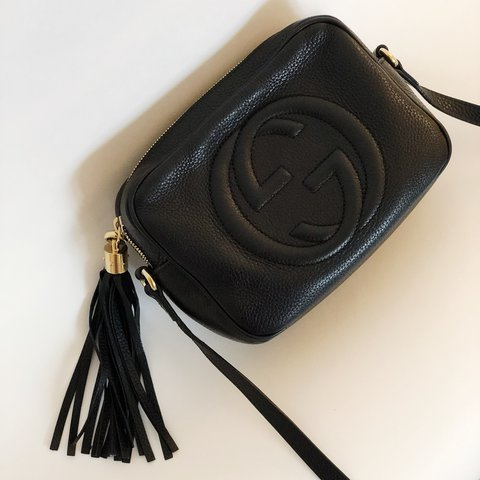 9ca76ce7531a @msnerdychica. last year. New York, United States. Gucci Soho Leather Disco  Bag ...