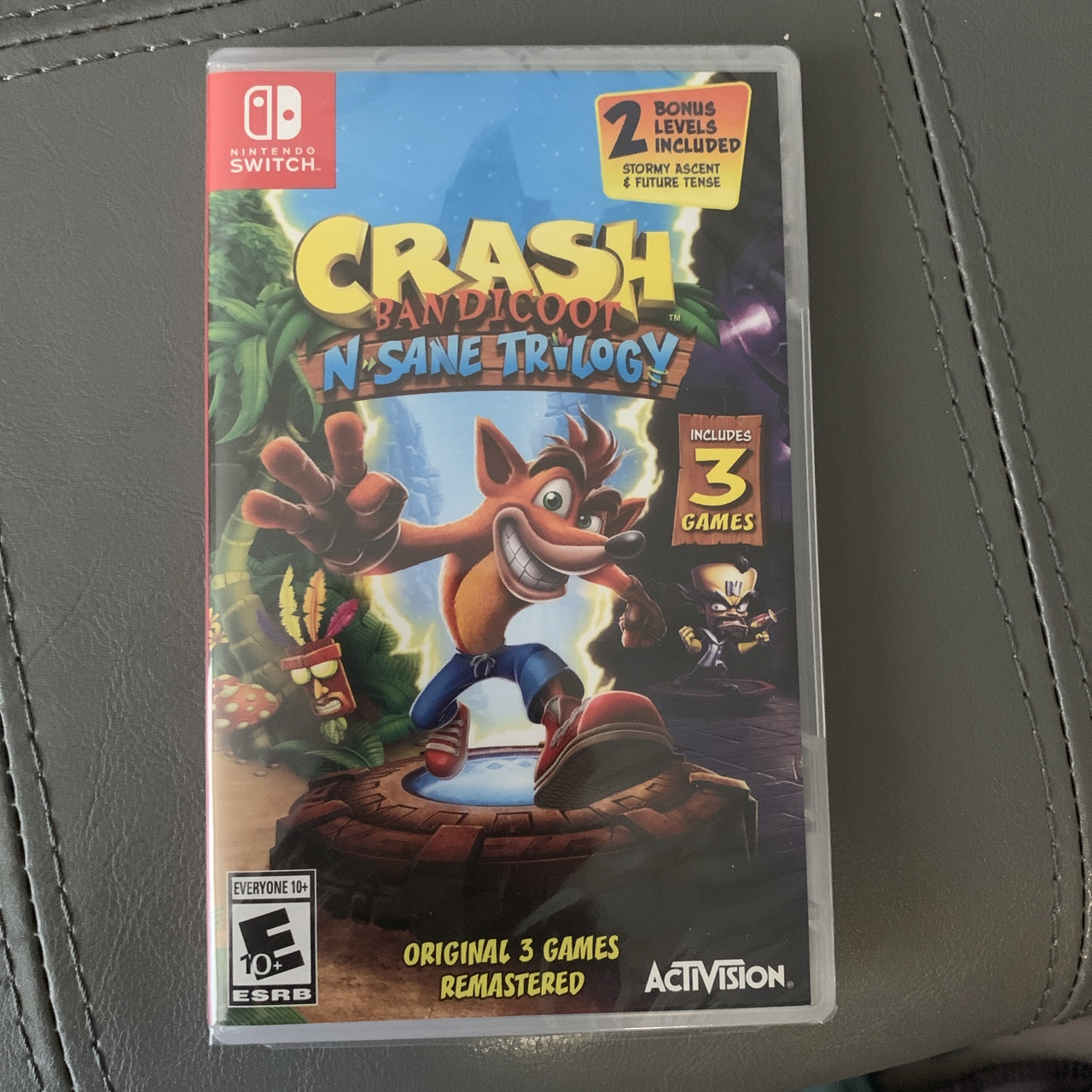 Crash Bandicoot N Sane Trilogy for Nintendo Switch!    - Depop
