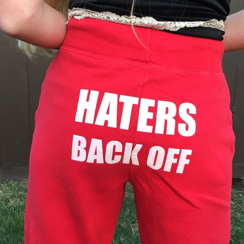 Miranda Sings Haters Back Off Pants These Are From Her A Depop