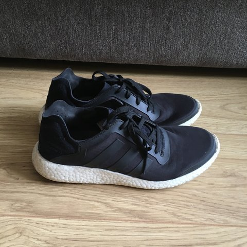 9f00541bfd6d1 PRICE DROP Adidas Pure Boost Size uk 10.5 There is some dirt - Depop