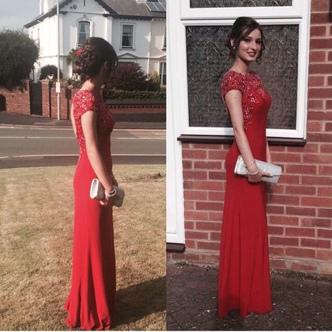Tight Fitted Prom Dress