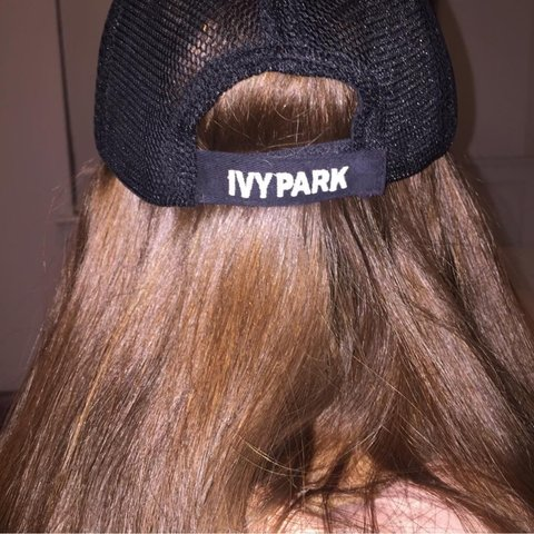 5d6dc10a40a03 Mesh black ivy park baseball cap bought from topshop for £15 - Depop