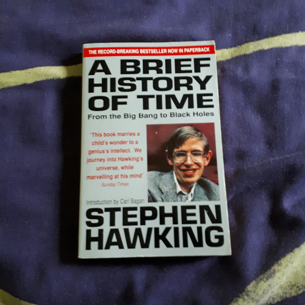 Stephan Hawking A Brief History Of Time Depop