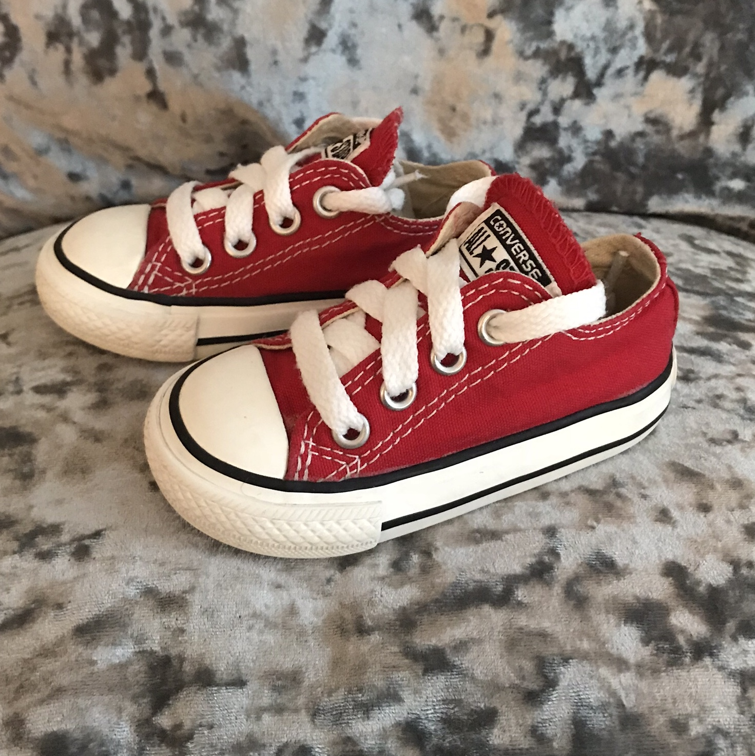 Red Converse - Baby/Toddler (unisex