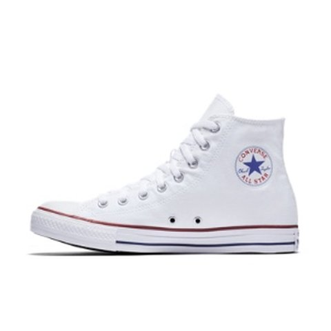8bbe411c33be size 6 in women s white converse shoes - Depop