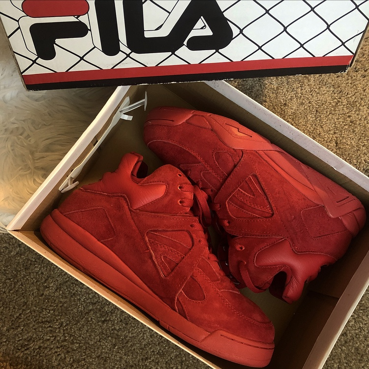 FILA The Cage in Red Mens size 10.5