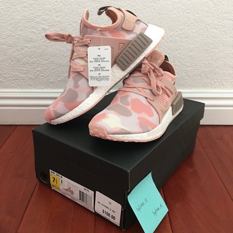 best cheap fa2ff e989d lylinee. 2 years ago. Davis, United States. Deadstock Brand New in  Original Box Adidas NMD XR1 Duck Camo in Pink ...