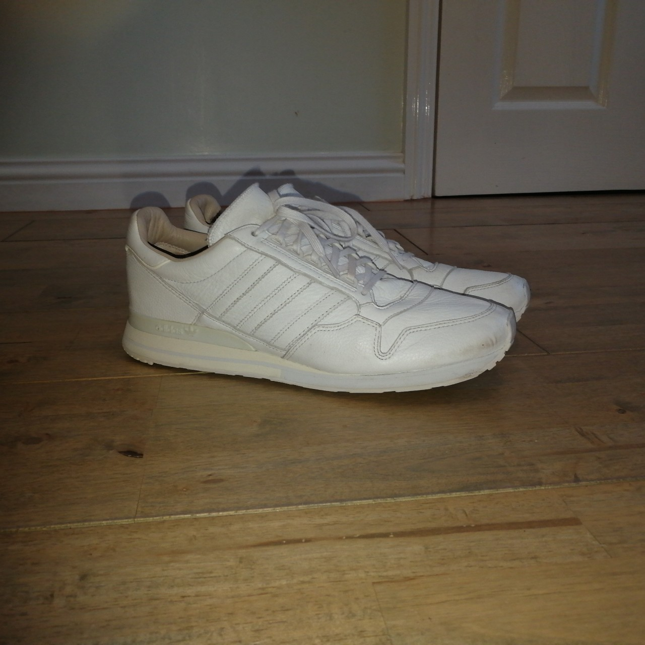 sports shoes 02acb 70e83 Adidas ZX 500 OG Made in Germany - White Deer... - Depop
