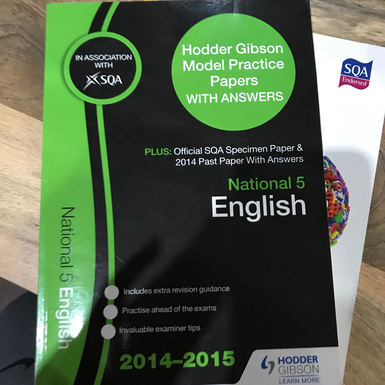 2 English past papers and how to pass books  RRP    - Depop