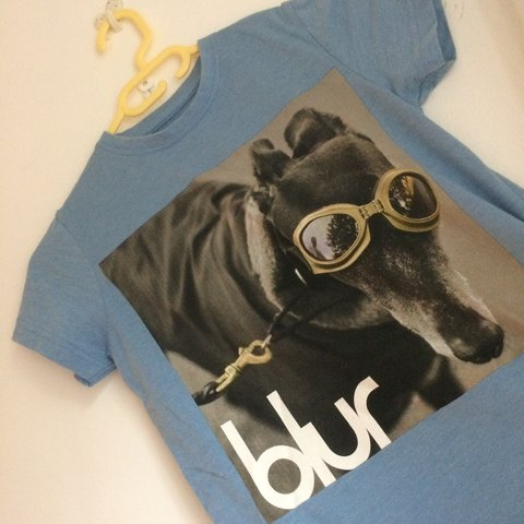 bee1511bf @anna_cornish7. 2 years ago. London, UK. Real Blur band top. Worn once excellent  condition fits size ...