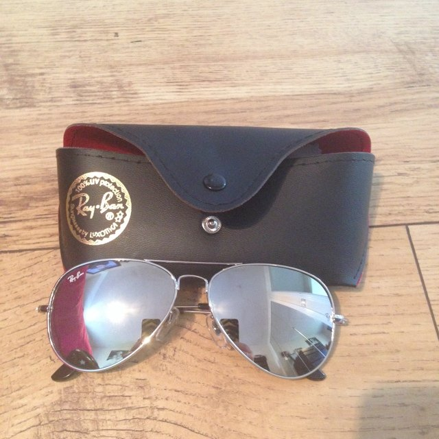 5c8781e730  jessie1991. 5 years ago. United Kingdom. Ray ban aviators 100% UV  protection ...