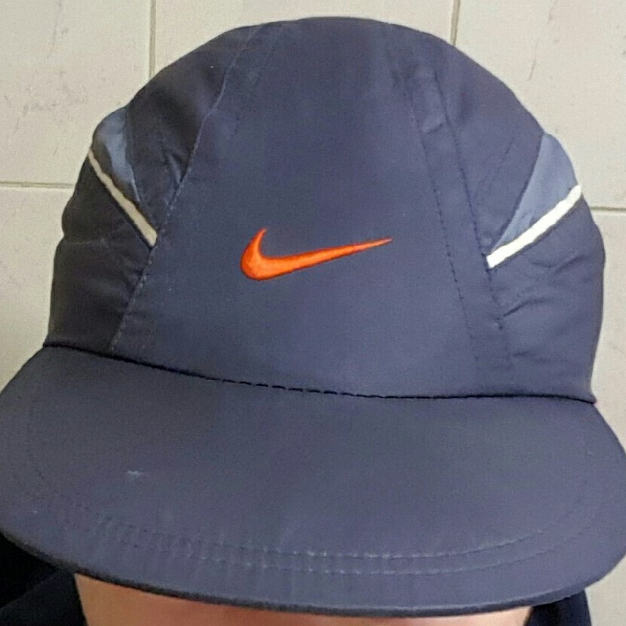 Nike clima fit climafit thin stripe hat cap LOOKING FOR - Depop 9bc9b3642b2