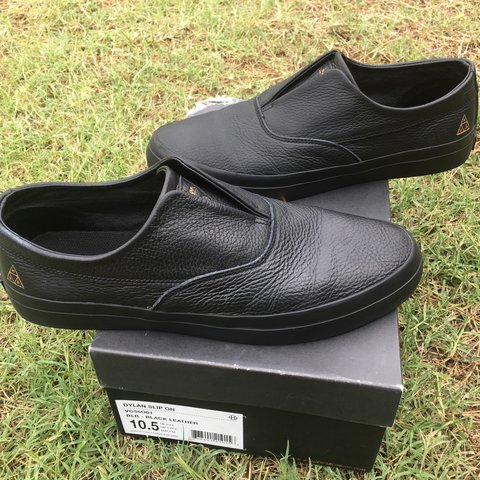 86d08bc24b HUF Dylan Rieder Slip on in perfect condition! Worn once fit - Depop