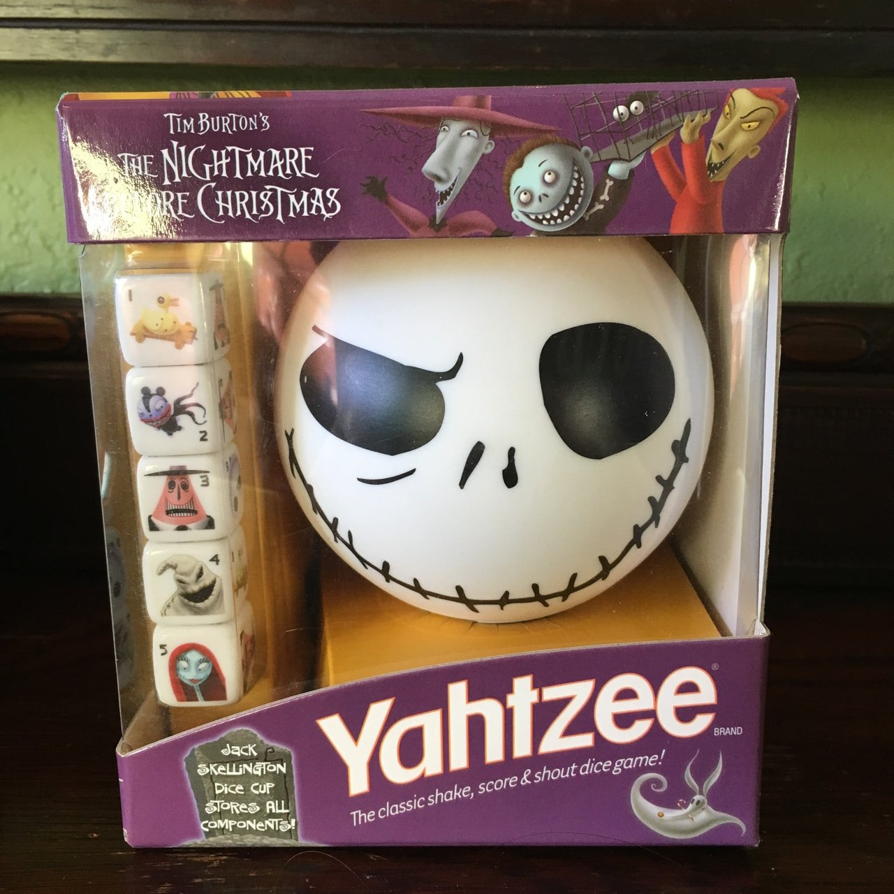 Nightmare Before Christmas Yahtzee game. New in box. Tags: - Depop