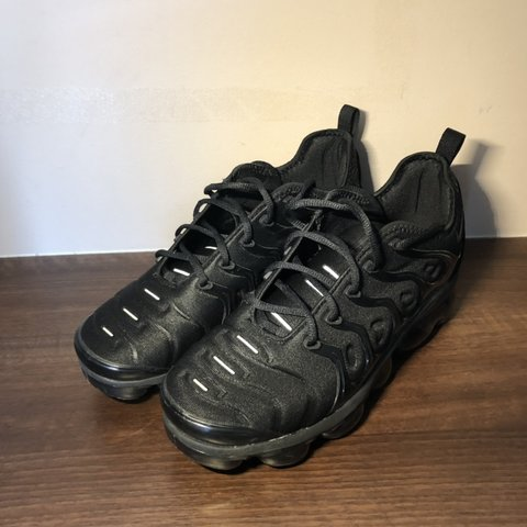 fd6acc3648 WTS/WTT: Rep Triple Black Nike Air Vapormax TNs size UK 10. - Depop