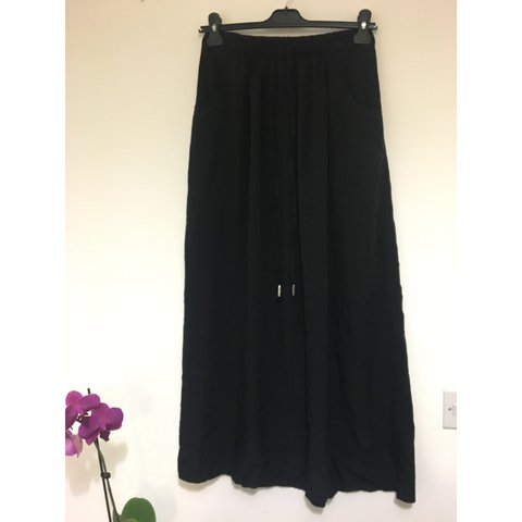 0a9f52e94 @rebeccahamblett. 2 years ago. East Grinstead, United Kingdom. Black  chiffon maxi skirt