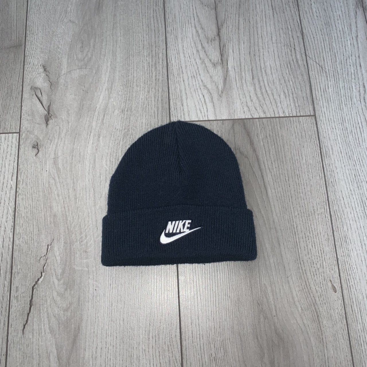 89e15a082dc Nike beanie hat Child kids size Excellent condition Hardy - Depop