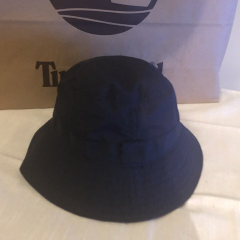 ef9c15f828c Brand new Timberland  bucket navy hat  never worn and tags - Depop