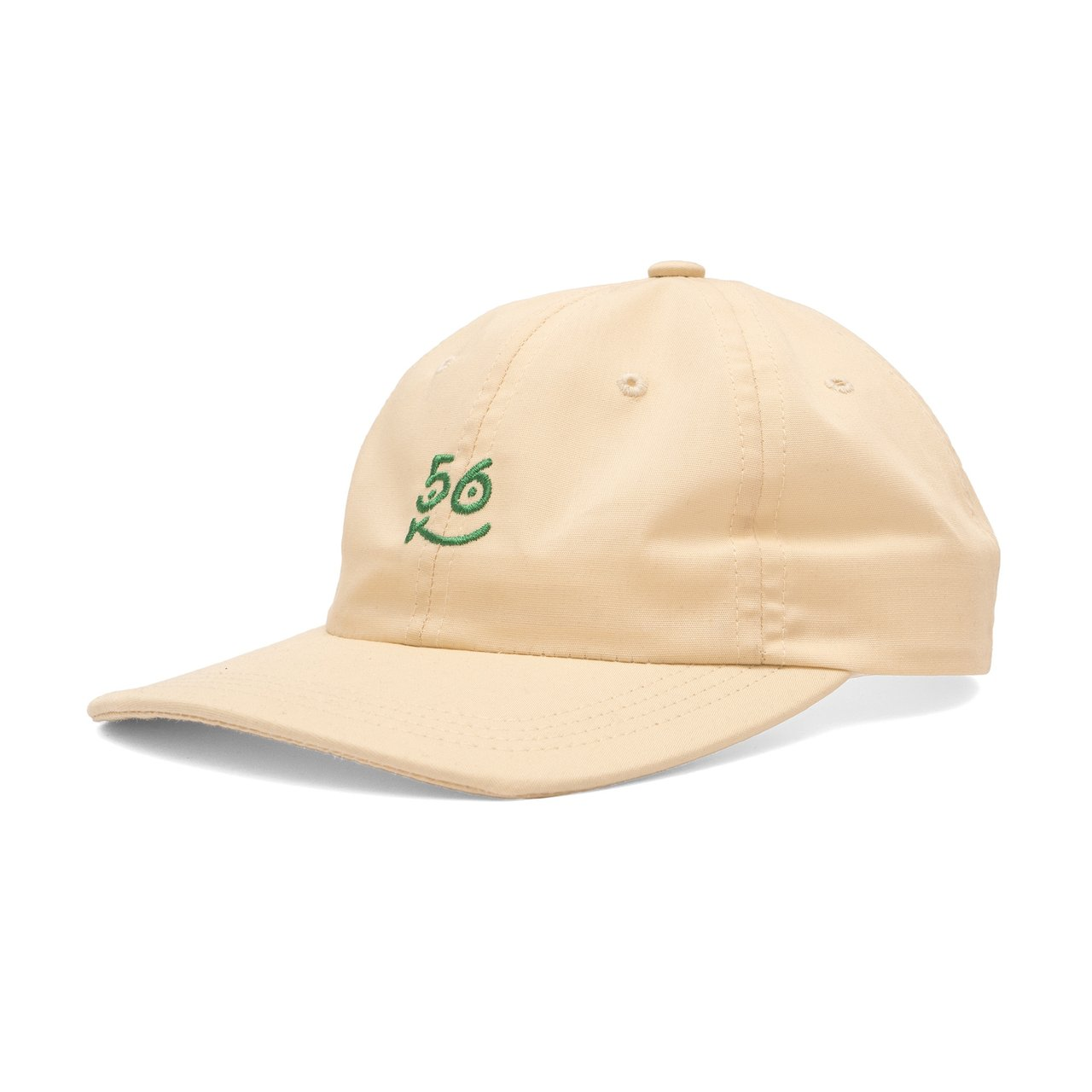 Bronze 56k smiley hat. Color light yellow. Green embroidered - Depop 1720339a5c3