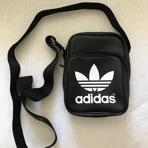 af0fea6a254 @scottxch. 2 years ago. Port Talbot, United Kingdom. Small Black and White  Adidas Hip Messenger Bag Perfect for Holidays! Excellent Condition Only Used  ...