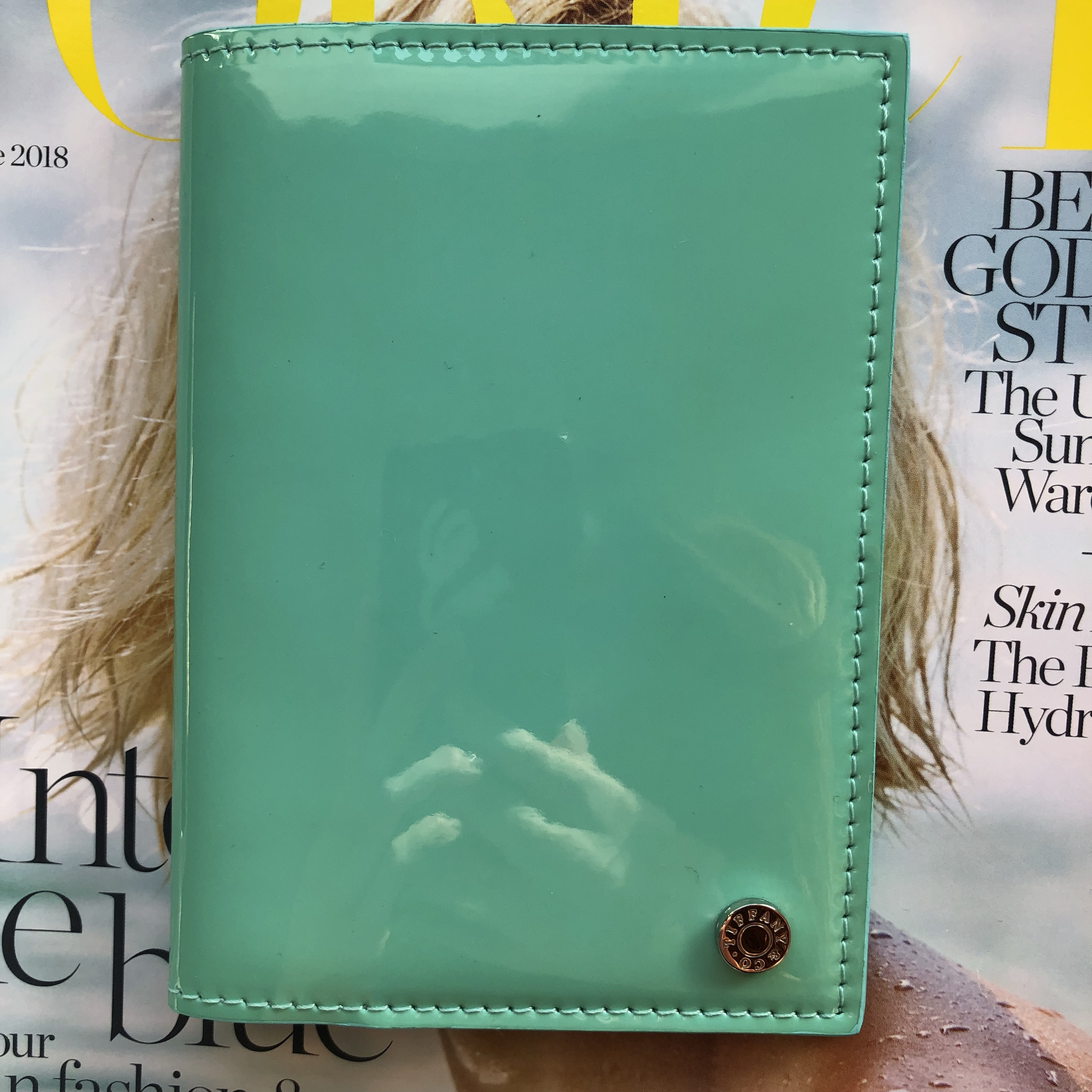 b3ee19a3822e4 thesteelelife. Los Angeles, United States. Brand new Tiffany & Co. passport  holder!