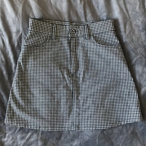 223fb42af5 @angient. 3 months ago. Reading, United Kingdom. Brandy Melville J Galt  Juliette black/white gingham checkered print skirt.