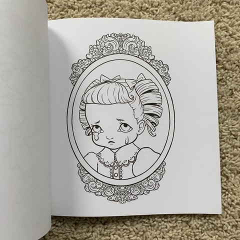 - Melanie Martinez Cry Baby Coloring Book Brand New... - Depop