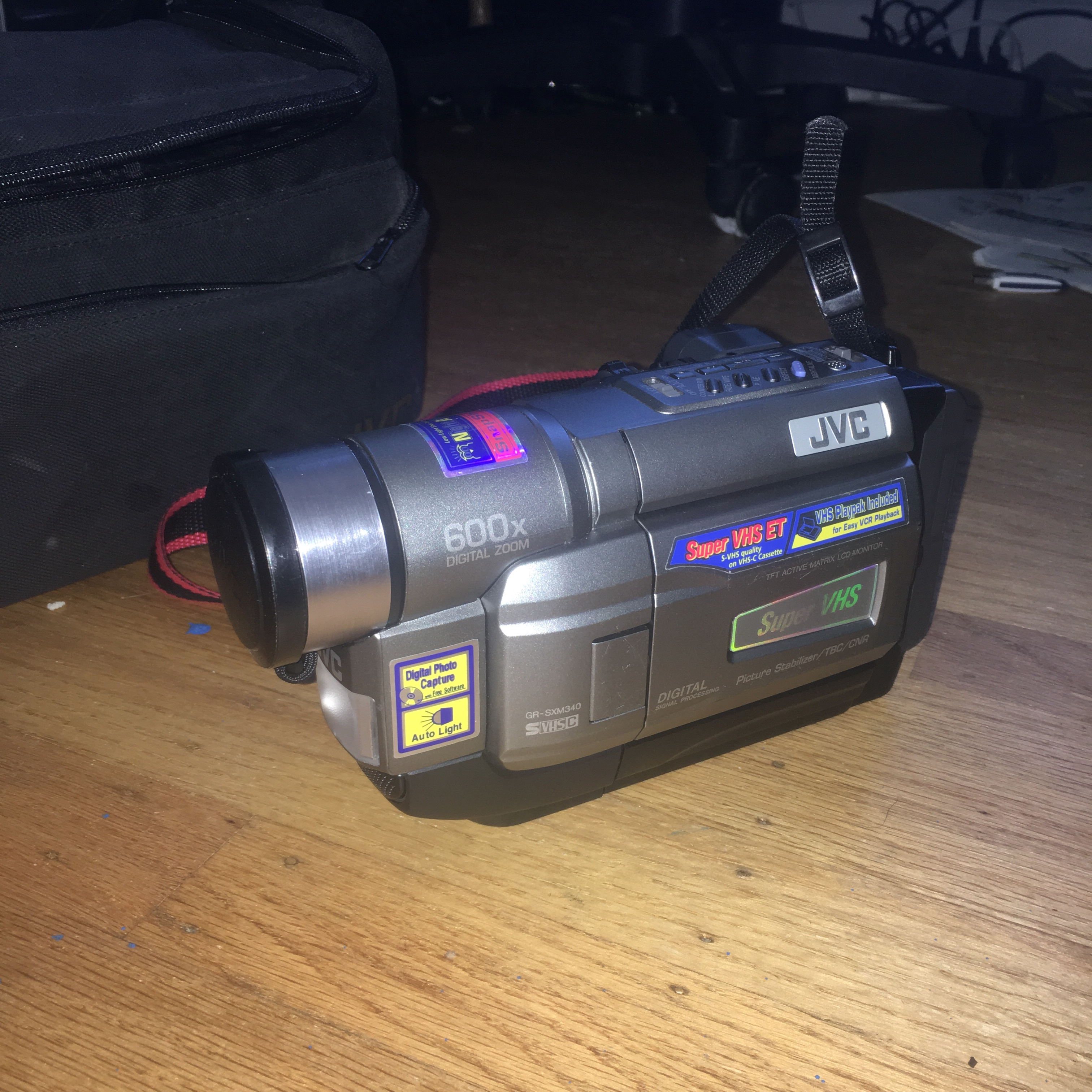 90s Jvc Camcorder Fully Functioning Comes With A Depop
